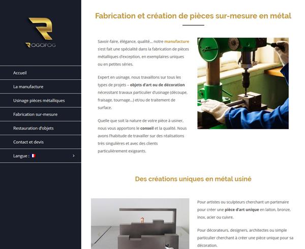 Création site Rogofog