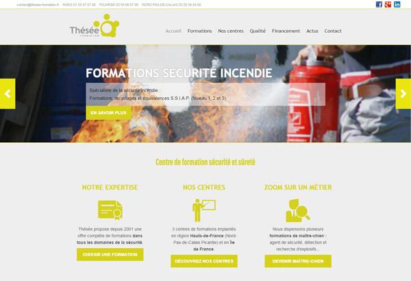 Création site Thésée